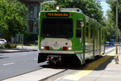 Regional Transit Green Line to Richards Boulevard